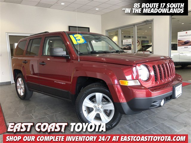 Pre-Owned 2013 Jeep Patriot Sport 4-CYL FWD SUV