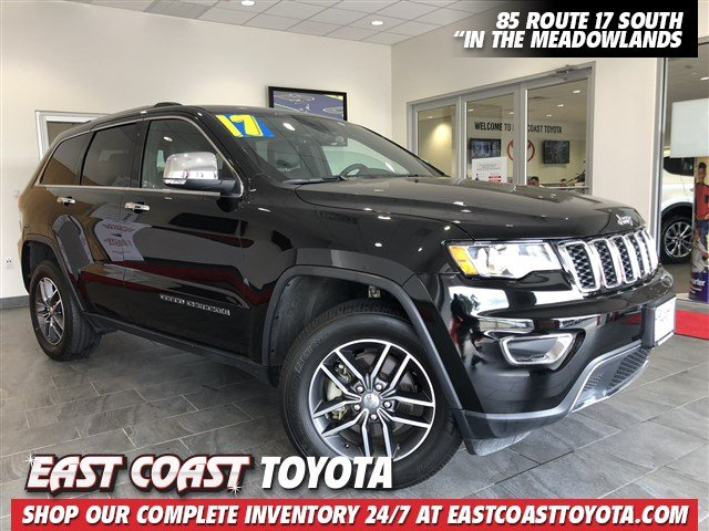 Pre Owned 2017 Jeep Grand Cherokee Limited V6 4wd Suv