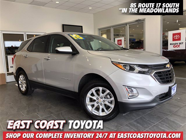 Pre-Owned 2018 Chevrolet Equinox LT 4-CYL AWD SUV