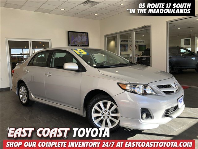 Pre-Owned 2013 Toyota Corolla S 4-CYL MANUAL SEDAN