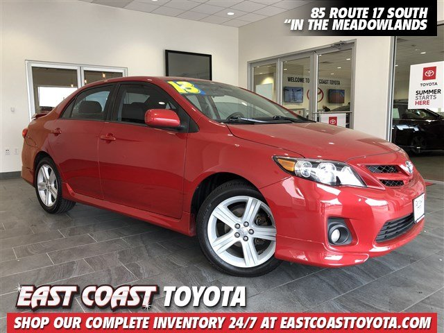 Pre-Owned 2013 Toyota Corolla S 4-CYL 4DR SEDAN