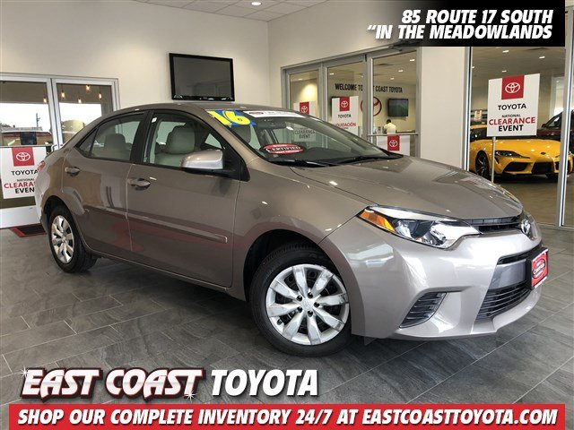 Certified Pre-Owned 2016 Toyota Corolla LE Plus 4-CYL 4DR SEDAN