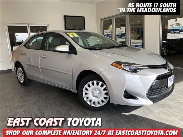 Pre-Owned 2017 Toyota Corolla LE 4-CYL SEDAN
