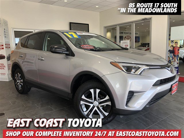 Certified Pre Owned 2017 Toyota Rav4 Le Awd Suv