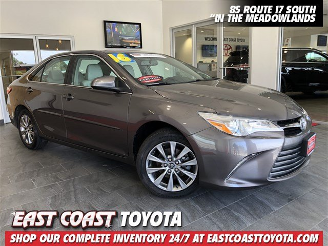 Certified Pre-Owned 2016 Toyota Camry XLE 4-CYL 4DR SEDAN