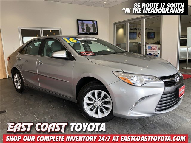 Certified Pre-Owned 2016 Toyota Camry LE 4-CYR SEDAN