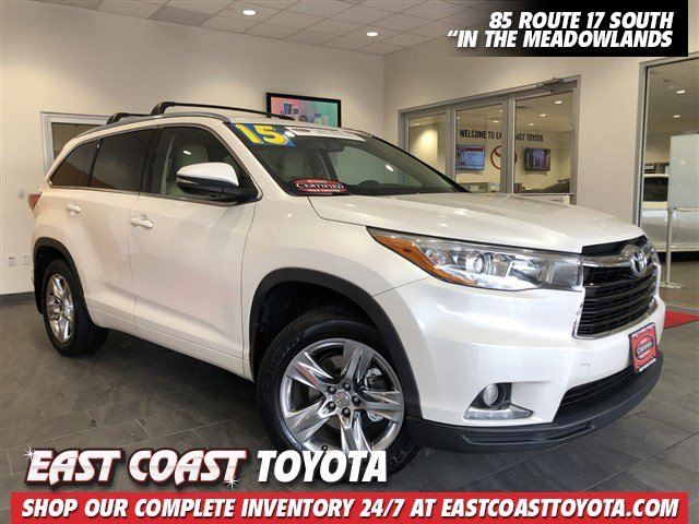 Toyota Highlander Seating >> Certified Pre Owned 2015 Toyota Highlander Limited Awd Suv Awd Sport Utility