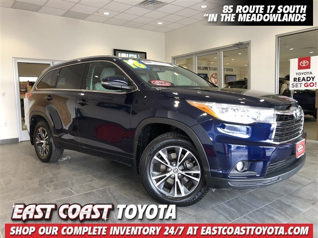 Certified Pre-Owned 2016 Toyota Highlander XLE AWD SUV