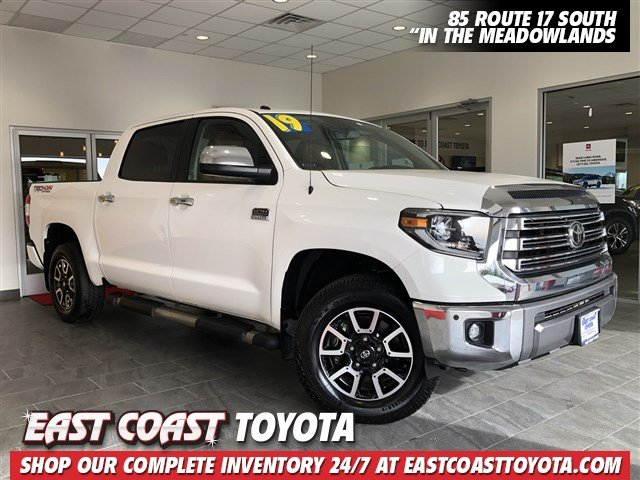 Pre-Owned 2019 Toyota Tundra 4WD 1794 Edition V8 4WD CREWMAX