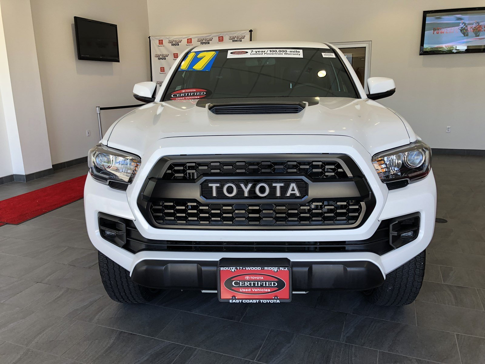 Certified Pre Owned 2017 Toyota Tacoma TRD Pro V6 4WD MANUAL DBL CAB