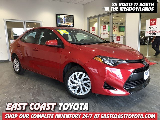 Pre-Owned 2018 Toyota Corolla LE 4-CYL 4DR SEDAN