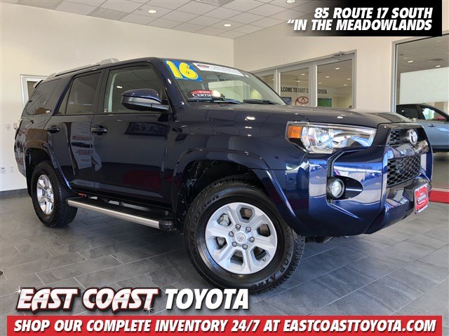 Certified Pre Owned 2016 Toyota 4runner Sr5 V6 4wd 3rd Row Suv