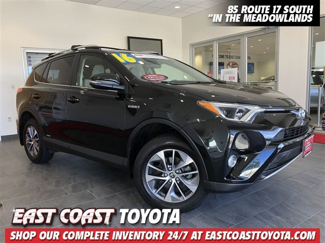 Certified Pre Owned 2016 Toyota Rav4 Hybrid Xle Awd Suv