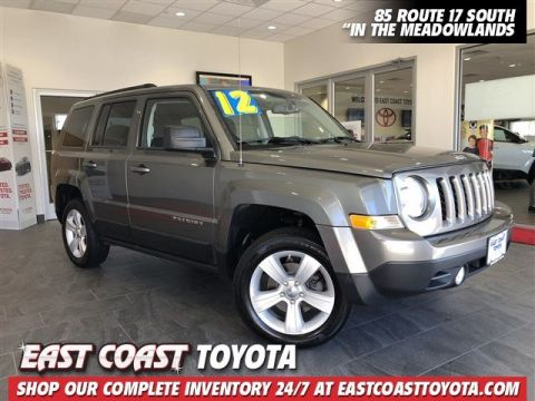 Pre-Owned 2012 Jeep Patriot Latitude 4-CYL 4WD SUV