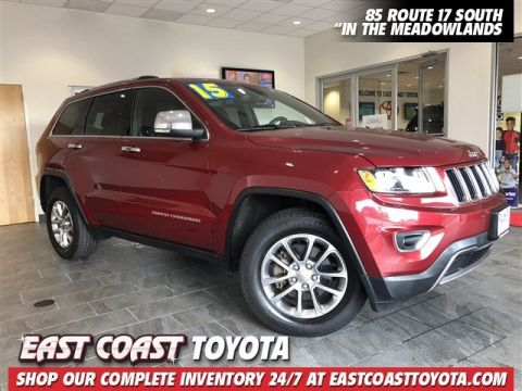 Pre-Owned 2015 Jeep Grand Cherokee Limited V6 4WD SUV