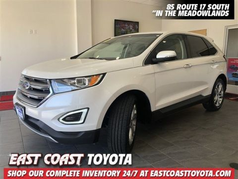 Pre-Owned 2018 Ford Edge Titanium 4-CYL AWD SUV