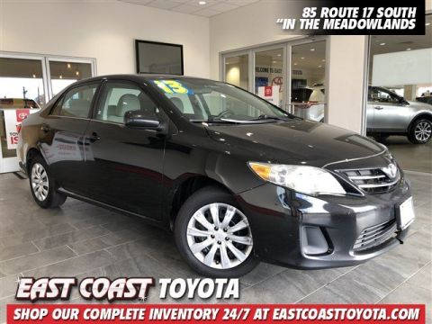 Pre-Owned 2013 Toyota Corolla LE 4-CYL 4DR SEDAN