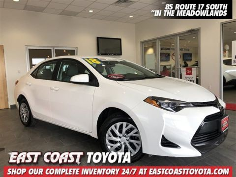 Certified Pre-Owned 2018 Toyota Corolla LE 4-CYL SEDAN