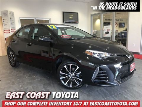 Certified Pre-Owned 2017 Toyota Corolla SE 4-CYL SEDAN