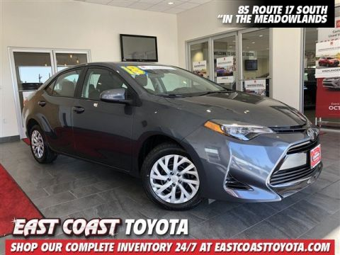 Certified Pre-Owned 2018 Toyota Corolla LE 4-CYL 4DR SEDAN