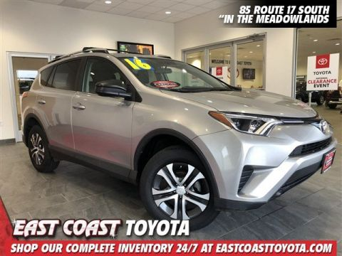 Certified Pre-Owned 2016 Toyota RAV4 LE 4-CYL AWD SUV