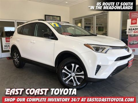 Certified Pre-Owned 2017 Toyota RAV4 LE 4-CYL AWD SUV