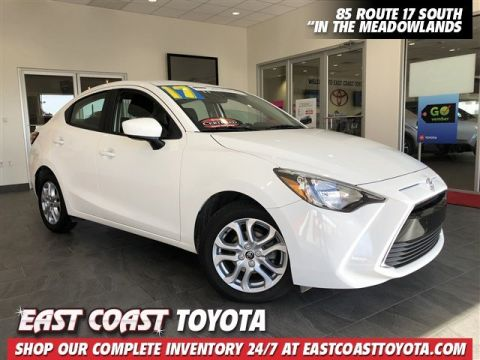 Certified Pre-Owned 2017 Toyota Yaris iA 4-CYL 4DR SEDAN