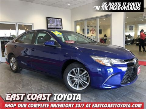 Certified Pre-Owned 2016 Toyota Camry SE 4-CYL 4DR SEDAN