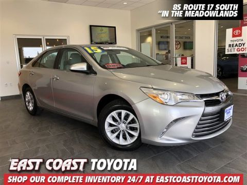 Certified Pre-Owned 2015 Toyota Camry LE 4-CYL 4DR SEDAN