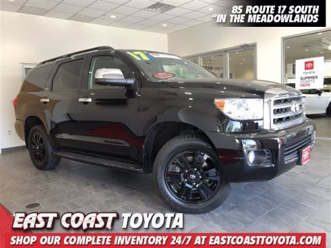 Certified Pre-Owned 2017 Toyota Sequoia Platinum V8 4WD SUV