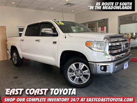 Pre-Owned 2016 Toyota Tundra 1794 V8 4WD CREWMAX