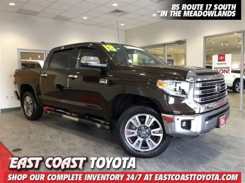 Certified Pre-Owned 2018 Toyota Tundra 4WD 1794 Edition V8 4WD CREWMAX