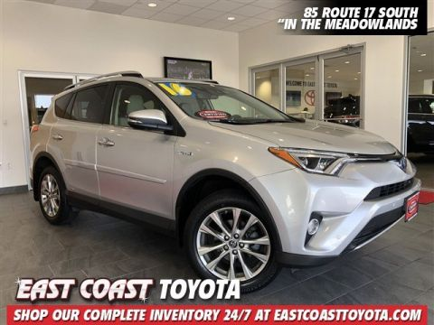 Certified Pre-Owned 2016 Toyota RAV4 Hybrid Limited AWD SUV